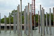 Site piling 54