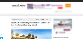 Need A New Holiday Destination? Get Ready For Eco-Resort Funtasy Island
